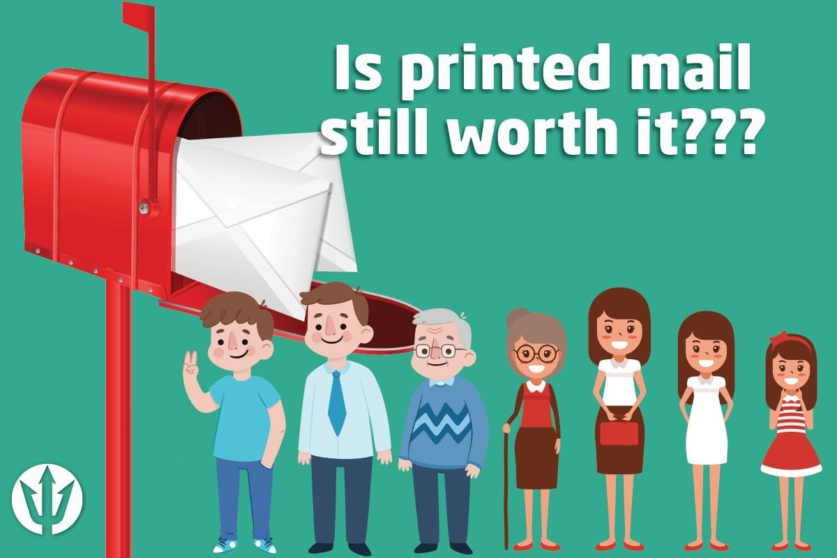Is printed mail still worth using for business marketing?